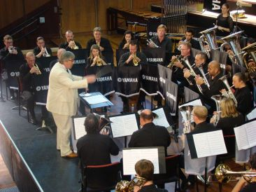 Dr Robert Childs conducts RASWA Brass at the 2013 National Championships