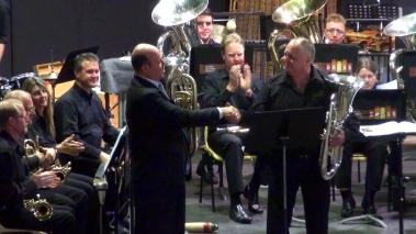MD Alan Lourens and Principal Euphonium John Kent